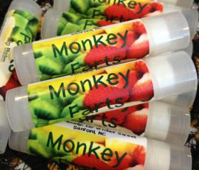 Monkey Farts Lip Balm
