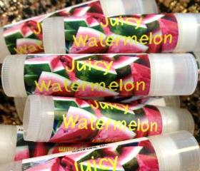 JUICY WATERMELON Lip Balm Tube .15